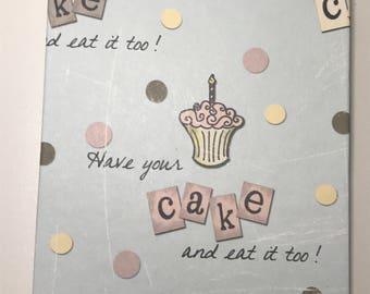 Cake Birthday Reminder Book