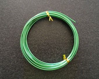 Green metal for all your decorations, creations, jewelry wire