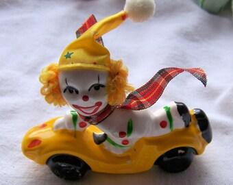 Vintage Hot Rod Clown