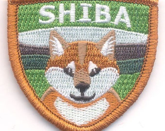Embroidered Shiba Inu Patch