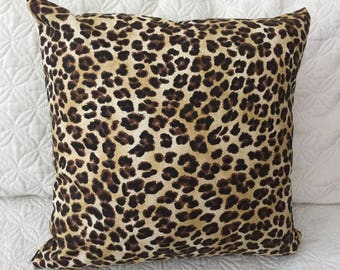 DECORATIVE PILLOW-Leopard Sand Color (F)