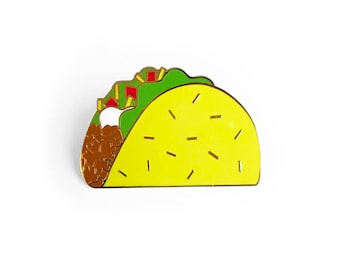 Taco-Emaille-Pin