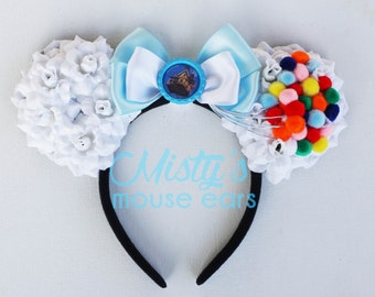 Inspires Up Rose Mouse Ears Balloons with House