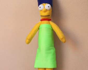 Marge Simpson Plush Toy