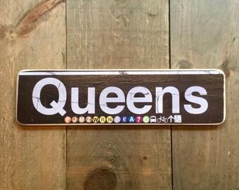 Queens - 4x15 in.