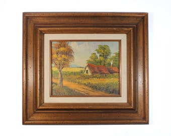 Vintage House Painting