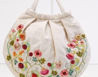 Caroline's Bag in weiß