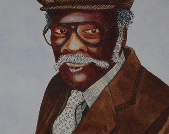 Watercolor Portrait of Someone Special Painted by Michael Joe Moore