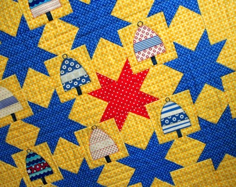 Nautical Quilt Pattern: The Backstreet Buoys