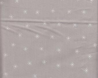 Moda Fabrics Merrily Snowy Stars in Chill - half yard
