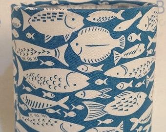 Lantern, Fabric, Nightlight, Fish, Seaside, Coastal