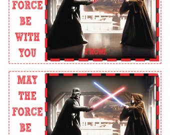Star Wars Valentines