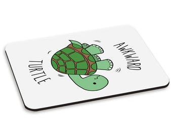 Awkward Turtle PC Computer Mouse Mat Pad