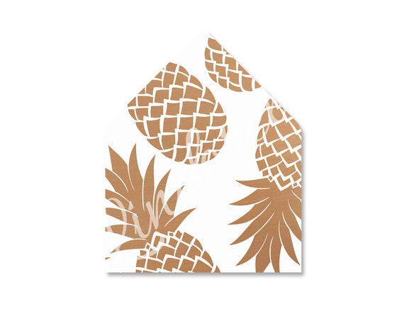 Pineapple Leaf Template