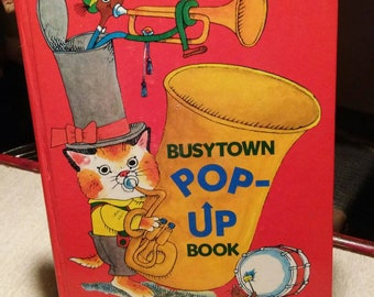 Richard Scarry Pop Up book