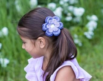 Purple Hair Clip Lavender Hair Clip Grape Hair Clip Flower Hair Clip Purple Barrette Lavender Barrette Grape Barrette Flower Barrette Spring