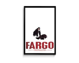 Fargo 11 x 17 Inch Minimalist Movie Poster