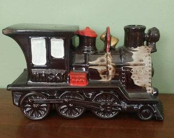 Vintage Train Whiskey decanter