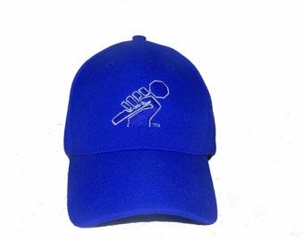 Blue Mic Dad Cap