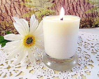 Floral Scented Candle Gift Set 4-2oz Sample Size Candles Hand Poured Natural Soy Wax Highly Scented Floral Soy Candles Birthday Gift For Her