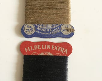 Ex Army Surplus Vintage Strong Linen Threads