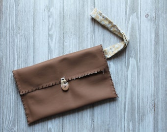Hand Stitched Clutch