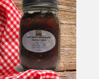 Hot Sweet Pepper Relish