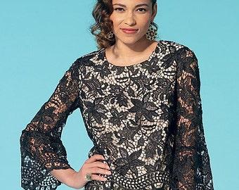 OUT of PRINT McCall's Pattern M7285 Misses' Tops