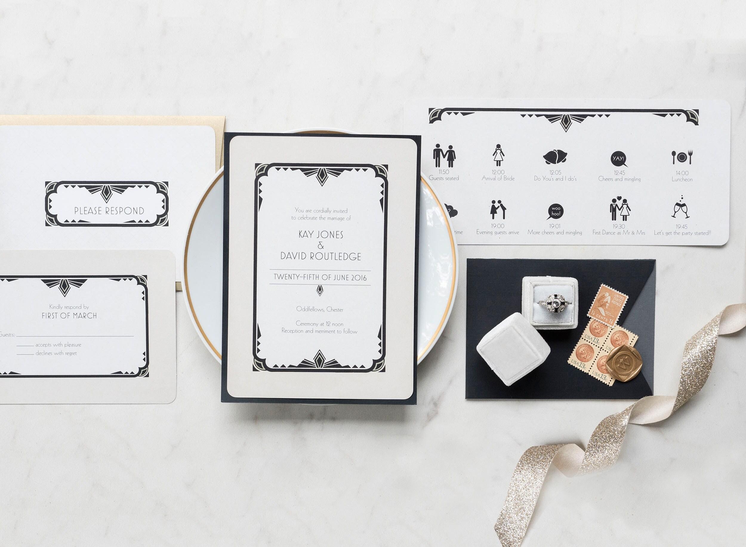 Großartig Einzigartige Hochzeitsprogramme Vorlagen Galerie - Entry ...
