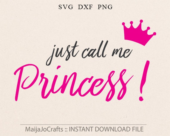 princess svg girl svg file baby girl svg for cricut and cameo