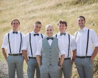Mismatched Groomsmen Bow Ties - Groomsmen Bowties - Custom Wedding Bow Ties - Groomsmen Bowties - Made to Order - Custom Bow Ties