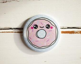 Donut Pocket Mirror 77mm - Stocking Filler***