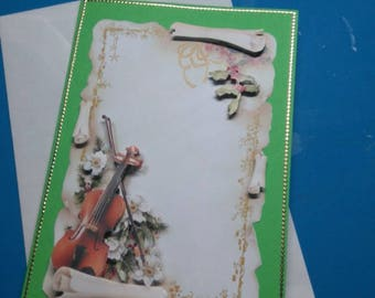 HAND made 820 3D greeting card