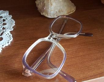 Vintage Glasses  Plastic Frame Eyewear 1970