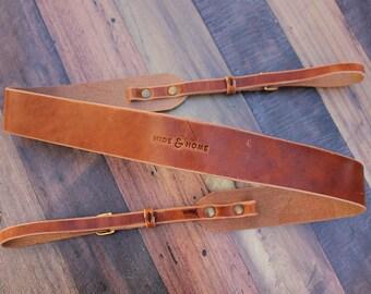 Handmade Leather Camera Strap, DSLR Camera Strap, Nikon, Canon, Camera Accessories, Photographer Gift