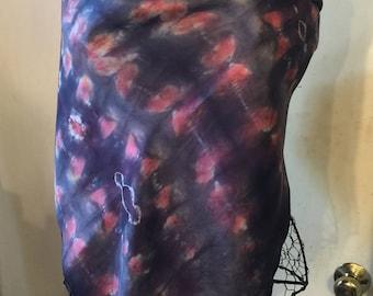 Habotai Hand-dyed Silk Scarf