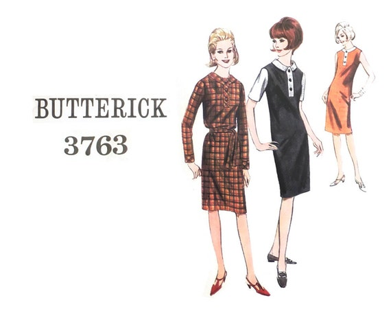 60s Shift Dress Sewing Pattern Sewing Pattern for Women