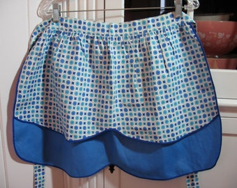 Vintage Apron - never used - reversible - absolutely too cute for words