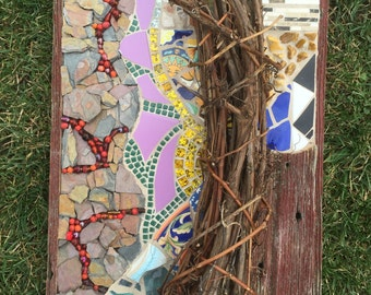 Harvest - Mosaic Wall Hanging