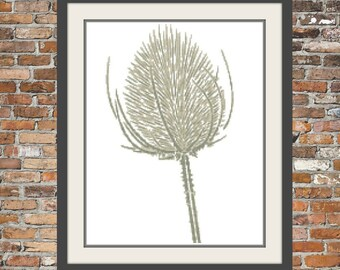 Wild Thistle - a Counted Cross Stitch Pattern