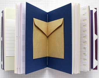 "Paper Dreams - Travel Journal - 4.5 x 6"" A6 - Mixed Paper Journal"