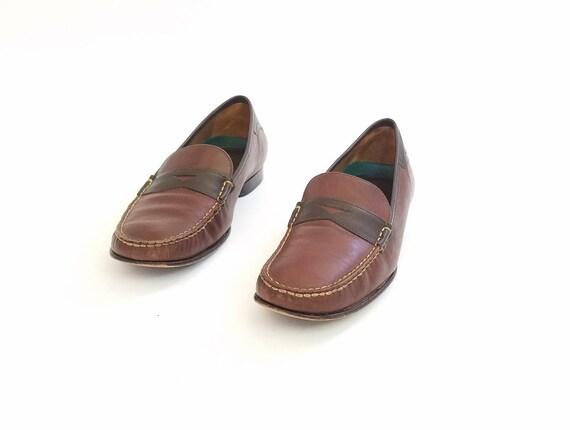 Loafers 5n Preppy Boat Penny Dress Shoes Oxfords Fashion Vintage Trask Brazilian Deck 8 Fall Tone Two Shoes Boho Brown Boho Womens HS Preppy qOAYYTxw