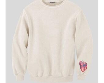 Heart On A Sleeve Sweatshirt
