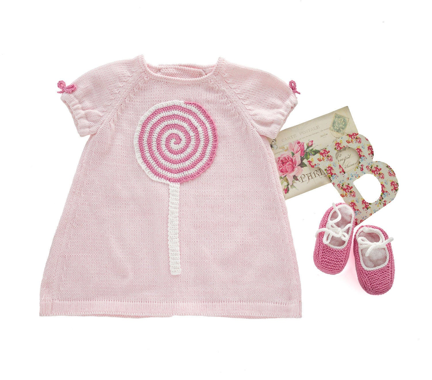 Knit baby dress set baby dress outfit home ing dress crib