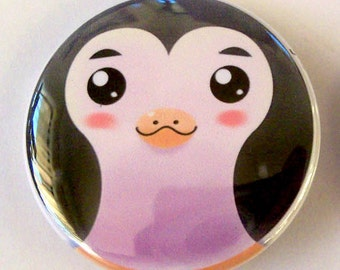 Penguin Pinback Button