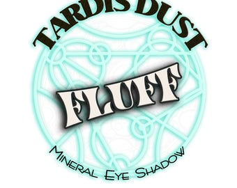 TARDIS DUST *Fluff* - Doctor Who Inspired Loose Mineral Eye Shadow - Adipose Creamy Shimmer / Highlighter