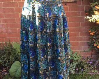 1980's Monsoon Skirt