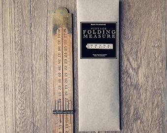 Vintage folding measures