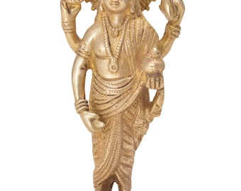 Decorative  statue of Dhanvantri handicrafts product by Vyomshop™BH06088