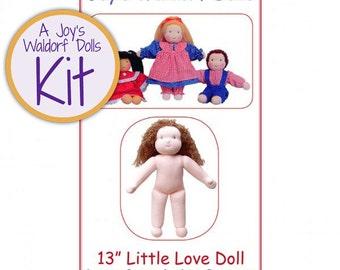 "Joy's Waldorf Dolls 13"" Little Love Waldorf Doll Making Kit - GIRL"